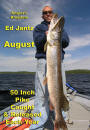 Eddy Jantz with the biggest pike of his life. Nungesser produces almost half of all the 50 inch pike caught in Canada each year